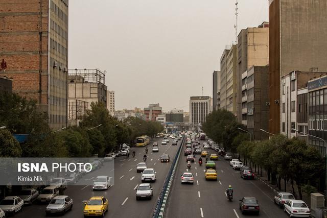 افزایش غلظت ذرات معلق هوای پایتخت تا انتها هفته